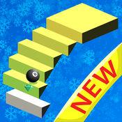 Stairs 2 HD : 砖 立方体 8 Ball Jumping Games