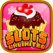 花式和纸杯蛋糕甜食甜点 - 美味的免费老虎机游戏