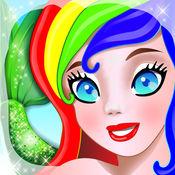 美人鱼沙龙:经典换装,沙龙游戏 - 适合孩子和幼儿的穿衣
