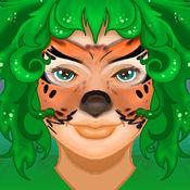 幻想脸部彩绘为孩子 1