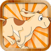 农场动物赛跑 - 迷失在荒野探险 1