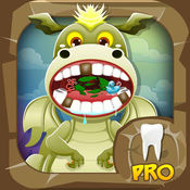 牙医龙. 孩子们 游戏 照顾动物 宠物医生 Dragon Dentist Pro