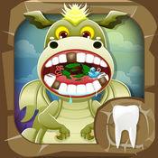 牙医龙. 孩子们的游戏 牙医游戏 照顾动物 宠物医生躁狂症 Dragon Dentist
