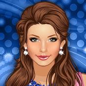 扮靓夜总会女孩。关于女孩和小公主化妆的游戏。 2