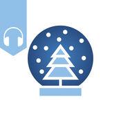 聖誕節節日音樂與黨主題和聖誕節壁紙 1