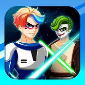 Costume War Squad. 打扮的游戏 恶棍服饰的战争 游戏为男孩 超级银河英雄