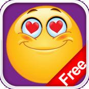 AniEmoticons 免费版- 滑稽,可爱的动态表情符号,图标,3D表情符号,字符,字母,和符号 -- 电子邮件,SMS,MMS,短信,即时聊天,WeChat和其他Messenger