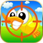 经典打鸭子之猎人射击小黄鸭