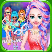 女孩沙龙游戏:沙龙女孩美容换装化妆游戏为孩子