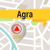 阿格拉 离线地图...