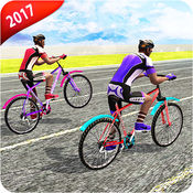 越野 自行车 骑...