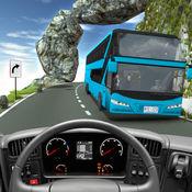 越野公共汽车模拟器-山公共汽车驾驶和停车