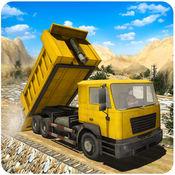 越野工程施工者3D - 器材运输车模拟游戏 1