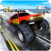 越野爬坡卡车3D - 4X4的怪物吉普模拟游戏