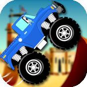 越野怪兽卡车特技传奇 - 跳技术硝基沙漠挑战赛 FREE 1