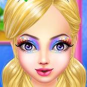 美女化妆游戏- 女孩游戏化妆游戏为孩子 1