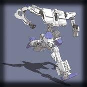 涂鸦异形大战机器人跳游戏免费 - 对决,同时跳频勋章环极! 1