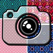 照片拼贴创造者 - 最好的编辑器缝合与美丽的相框和背景图