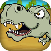 凶猛的恐龙疯狂 - 饲养怪物冒险(免费)