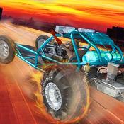 沙地车疯狂的特技 - 免费沙丘越野车赛车