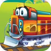 蒸汽机车! 火车模拟器游戏的孩子 1.4