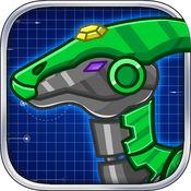 机械鸭嘴龙:组装/拼装恐龙玩具 1.3