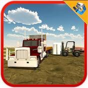 钢运输车卡车 - 3D驾驶