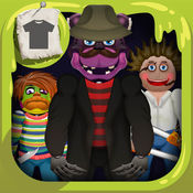Scary Bear Freddys Dress Up. 打扮的游戏 男孩可怕的笑话