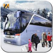驱动冬季旅游巴士转运3D临