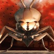 無人機打擊蝎子兵工廠 - 沙漠風暴生化戰士怪獸碰撞 ( Dron