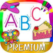 英文字母表ABC学英语背单词识字&儿童画画游戏 – Pro