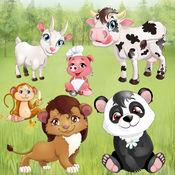 动物为幼儿和儿童:益智游戏宠物和野生动物!教育游戏 1.0.2