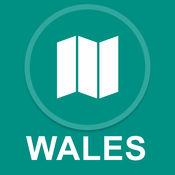 英国威尔士 : 离线GPS导航