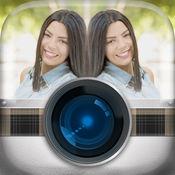 照片镜面反光效果 – 相机照片编辑器同混合图像效果