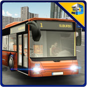 公共交通巴士模...