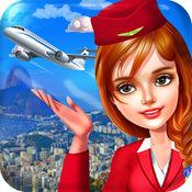空中小姐 和 乘务员 航空公司 飞行 服务 游戏