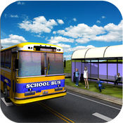 校车模拟器 - 疯狂的城市驾驶3d 2016年