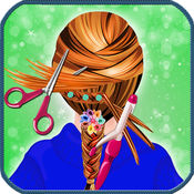 学校女孩发型-魔术脸化妆、 换 & 头发风格展台