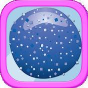 快速果冻球滚 - 快乐跳跃的生存冒险