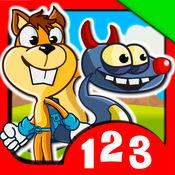 数字怪兽:适合儿童的数学游戏