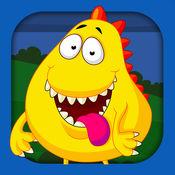 怪物拼图游戏:幼儿学习