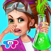 小小女科学家-学校实验室超级明星