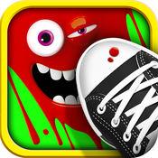 Stomp Bugs! - 践踏昆虫! - 压扁及壁球Ant的事情与你的脚粉碎机,不踩在白纸钉座!