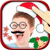 圣诞贴纸 - 照片编辑器及有趣的图标