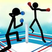 Stickman战斗拳击物理游戏