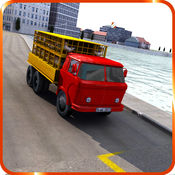 鸡运输车模拟器 - 四轮驱动装载机游戏