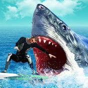 饥饿 捕食者 演化 : 鲨鱼 攻击 模拟
