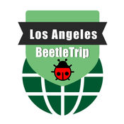 洛杉矶旅游指南地铁甲虫美国离线地图 Los Angeles travel guide and offline city map, BeetleTrip metro train trip advisor