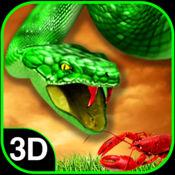 饥饿的野生蟒蛇模拟器:流浪猎鹿人
