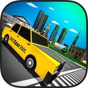 城市出租车模拟器2017-LA交通急速驾驶室驾驶